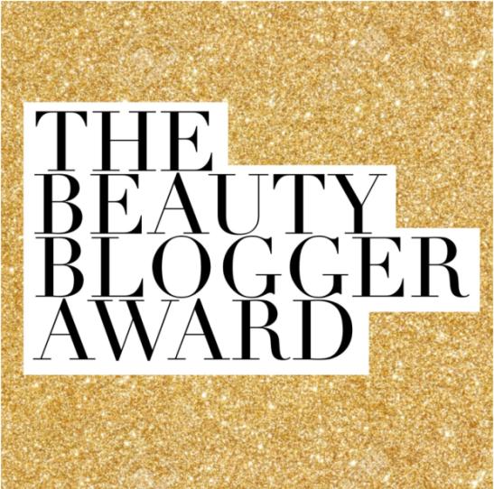 beauty blogger award image